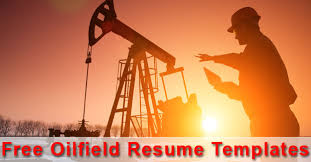 5 useful oilfield resume templates u200e