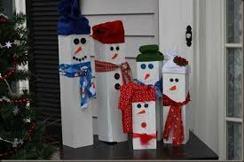 wooden snowman wood snowman family the moments