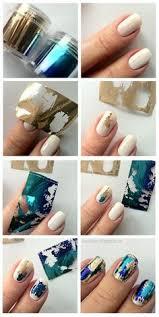 tutorial nail art foil hologram nail art tutorial nail art pinterest art tutorials