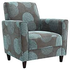 Blue Accent Arm Chair Amazon Com Dhi Enzo Sunflower Contemporary Style Accent Arm Chair