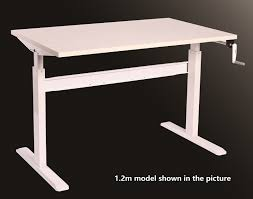 Height Adjustable Desk Canada by Buy Brateck Height Adjustable Standing Desk At Mighty Ape Nz