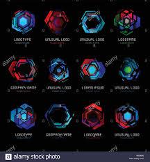 tech logo design cyber robot stock photos u0026 tech logo design cyber