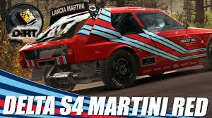 martini livery lancia dirt rally lancia delta s4 red martini youtube