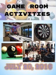 Games Room Equipment - game room activities