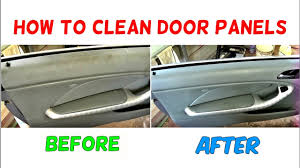 home products to clean car interior how to clean door panel how to clean car interior