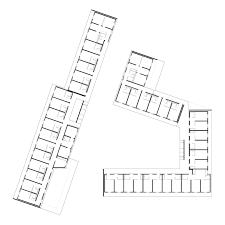 Yurt Floor Plan by Gallery Of Student Dormitory Nickl U0026 Partner Architekten 12