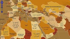world map with country names image a map of the world with each name listed in that country s language