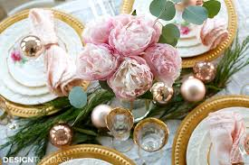 Pink And Gold Table Setting by Elegant Table Settings Elegant Table Pictures Photos And Images