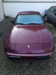 purple porsche 944 1984 porsche 944 targa serie i for sale