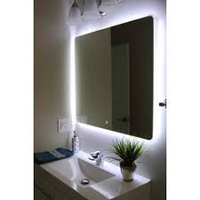 Bathroom Mirror With Lights Built In Bathroom Mirror Built In Light