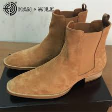 quality s boots kanye chelsea boots 100 genuine leather high quality vintage