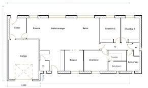 plan maison 120m2 4 chambres plan maison plein pied 120m2 plain 4 chambres dessinsdebureau info