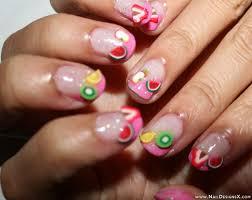 cute fruit nail design nail designs u0026 nail art fruit nail