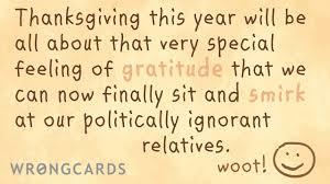 thanksgiving ecard special feelings wrongcards