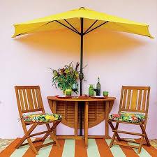 Patio Half Umbrella 28 Steep Patio Umbrellas Designs Interior Designs Home