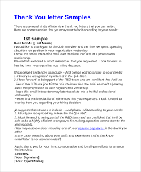 sample interview thank you email 7 examples in pdf word