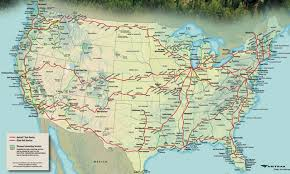 amtrak map usa map amtrak routes in subway style chart