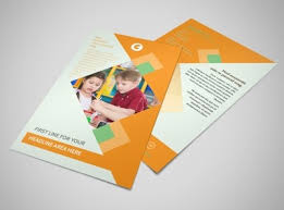 early years day care brochure template mycreativeshop