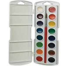 prang watercolor paint cakes assorted colors 16 pkg walmart