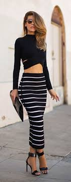 striped pencil skirt dress ala 40 business pencil skirt for 2017 styles