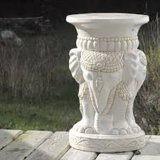 elephant end tables ceramic find more ceramic elephant end table plant stand garden stool for