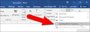 How To Use Resume Template In Word 2007 How To Quickly Insert Blocks Of Text In Microsoft Word With Autotext