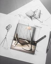 pin by monica o on bocetos pinterest sketches interior sketch