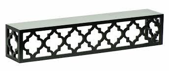 amazon com burnes of boston moroccan lattice ledge 24 inch