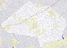 Georgia Counties Map Bridgehunter Com Jackson County Georgia