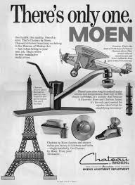 moen takes flight with the single handle faucet advertising a