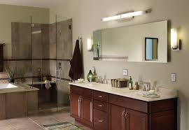 High End Bathroom Lighting Fixtures - lighting vanity cabinet and large bathroom mirror with bathroom