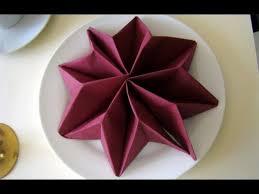 weihnachtsservietten falten napkin folding napkin folding for