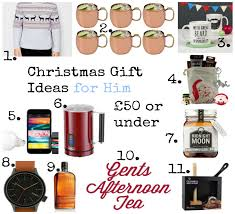 10 1 christmas gift ideas for him all at 50 or under