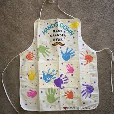gifts for grandparents made an apron for with