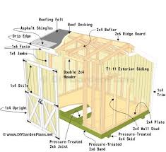 How To Build A 10x10 Shed Plans by Diy Plans For A Saltbox Shed Step By Step Guide