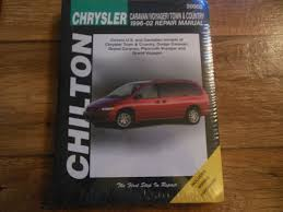 1996 chrysler town u0026 country u2013 review the repair manuals for the