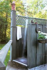 Outdoor Shower Ideas Seasonal Style Bathroom Trends To Try Out This Summer