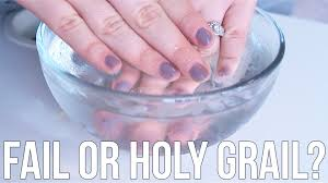 beauty hacks fail or holy grail drying nails in cold water