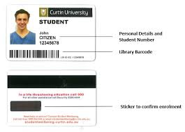 How To Make Employee Id Cards - current students identity id card curtin university