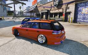 subaru wagon subaru legacy wagon bg5 replace template gta5 mods com