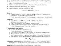 culinary resume exles culinary resume exles resume culinary arts resume exles