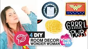 385 4 ideias para decorar seu home office wonder woman diy