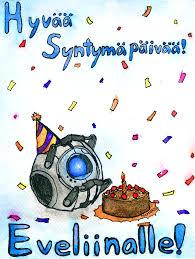 portal birthday card by nokikissa on deviantart