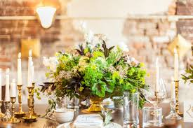 modern centerpieces rustic modern wedding inspiration