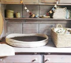 baby changing table basket tutorial make your own basket going home to roost