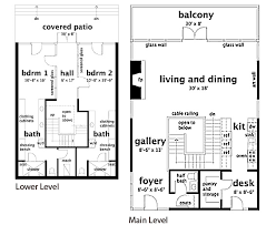 Floor Plans For Sloped Lots 14 Long Narrow House With Possible Open Floor Plan Narrow Lot