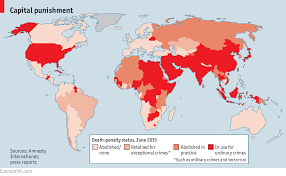 World Crime Rate Map by News Death Penalty Information Center