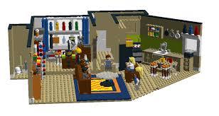 Lego House Floor Plan Lego Ideas The Big Bang Theory Sheldon And Leonard U0027s Apartment