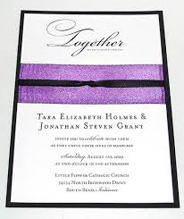 wedding invitations with ribbon how to ribbon embellished wedding invitations paper source