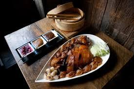 what to eat at decoy now serving peking duck below redfarm